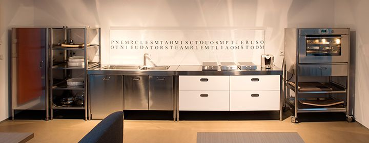 Cucine in acciaio modulari personalizzabili Alpes Inox   CUCINE ...