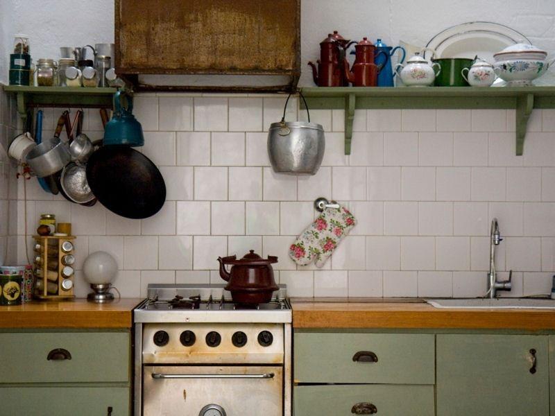 Nos Ambiances Douces Et Pastel Pour S Inspirer Idee Deco Cuisine Cuisine Verte Cuisine Vintage