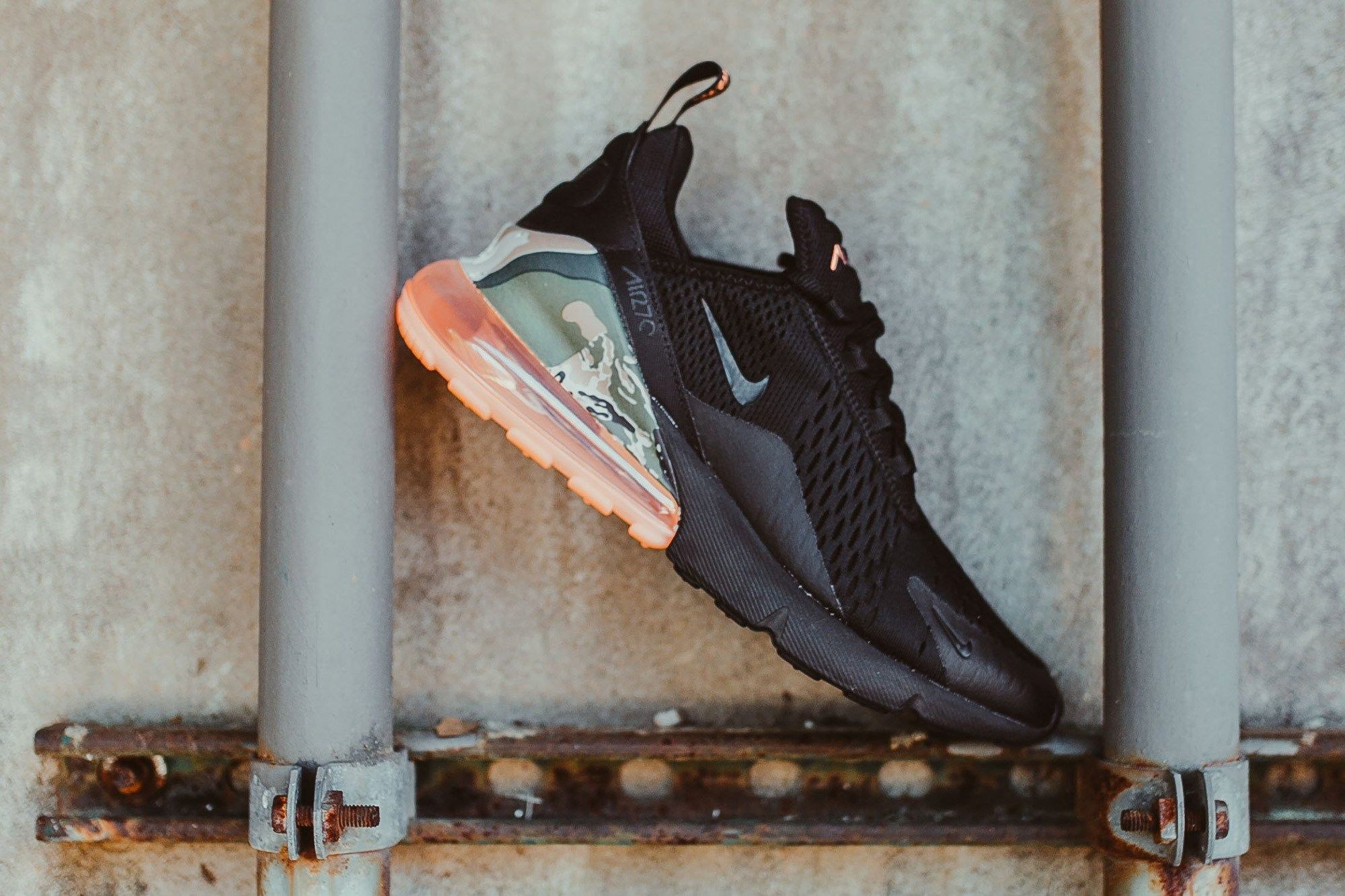 Nike Air Max 270 Available In Coral Camo Air Max 270 Sneakers Shoes Too Big