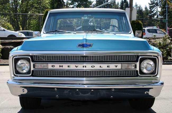 1970 pickup truck grill