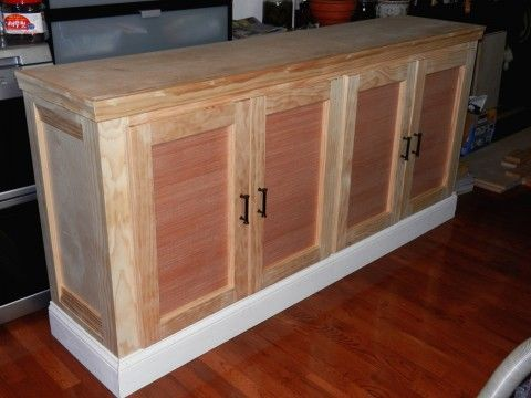 Shanty Sideboard and Hutch - First Build