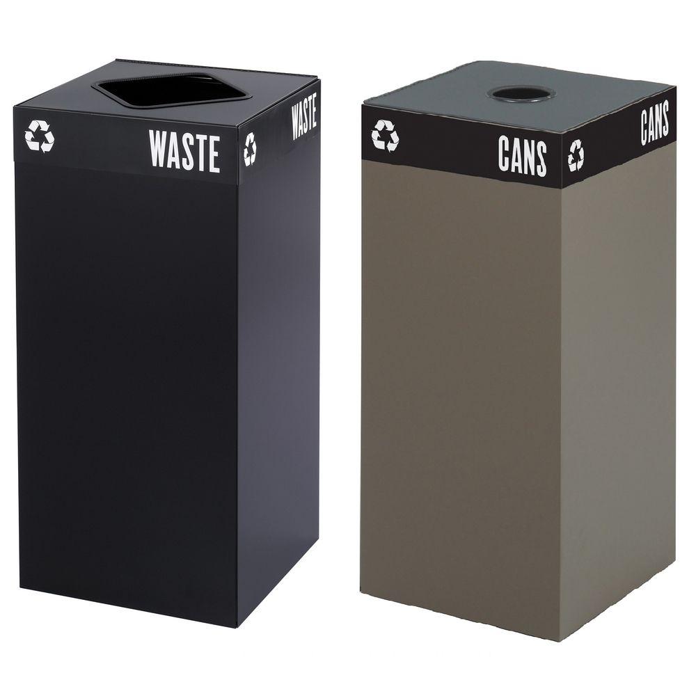 Safco 31-gallon Public Square Trash Base