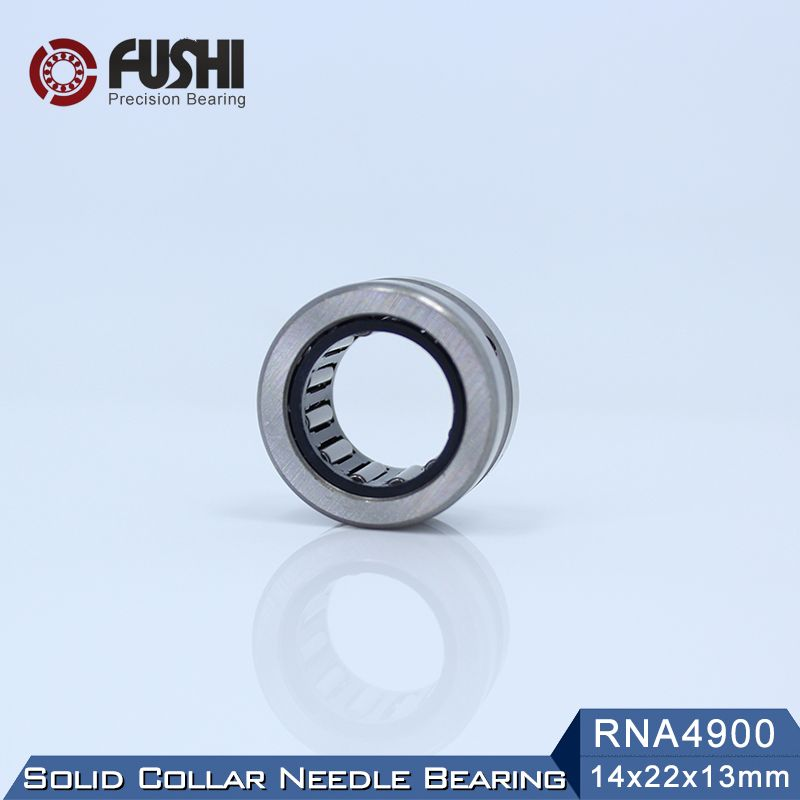 Rna4900 Bearing 14 22 13 Mm 2 Pcs Solid Collar Needle Roller Bearings Without Inner Ring 4624900 4644900 A Bearing Needle Roller Rings Needle