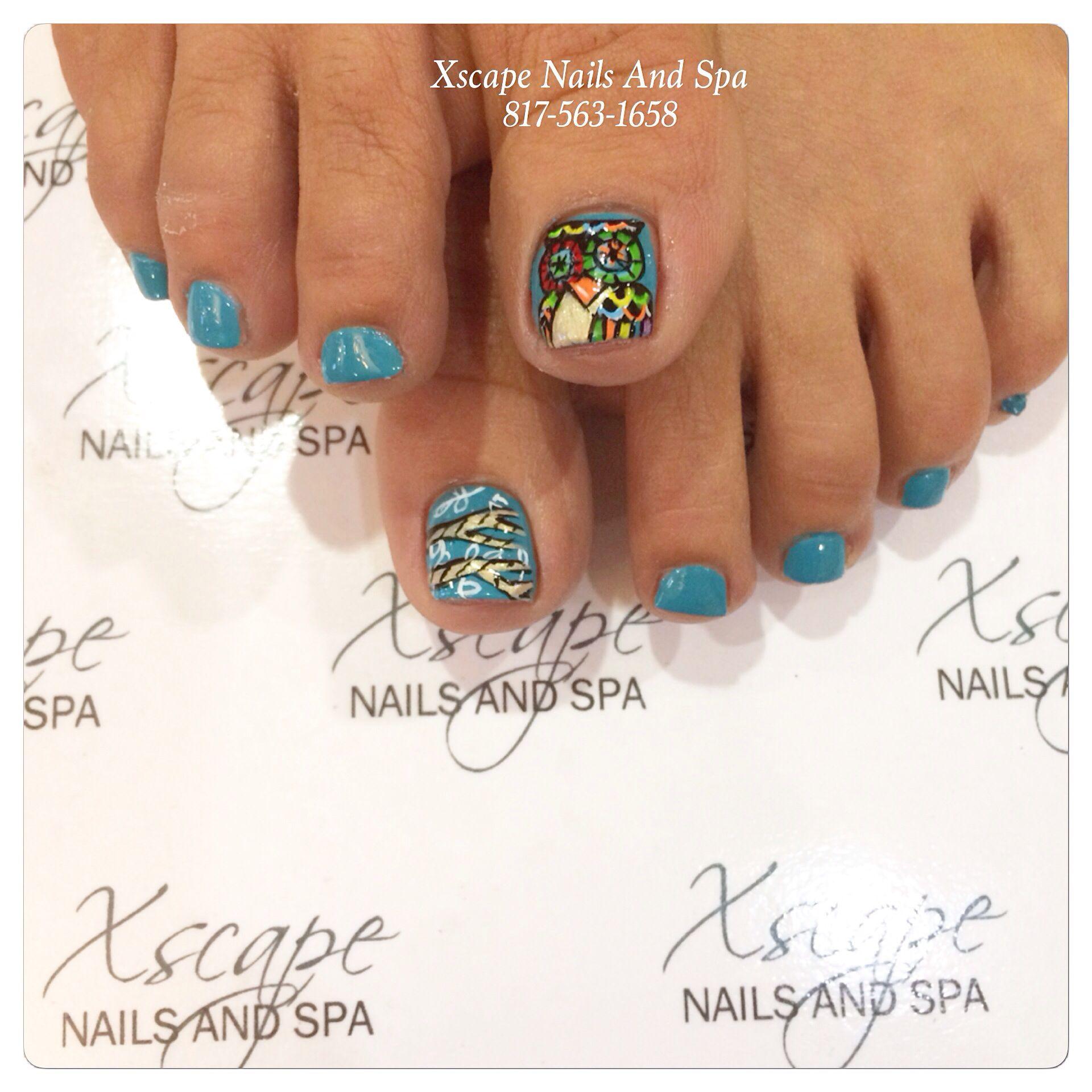 Owl nail designs | Toe Nails Designs | Pinterest | Owl nail designs ...