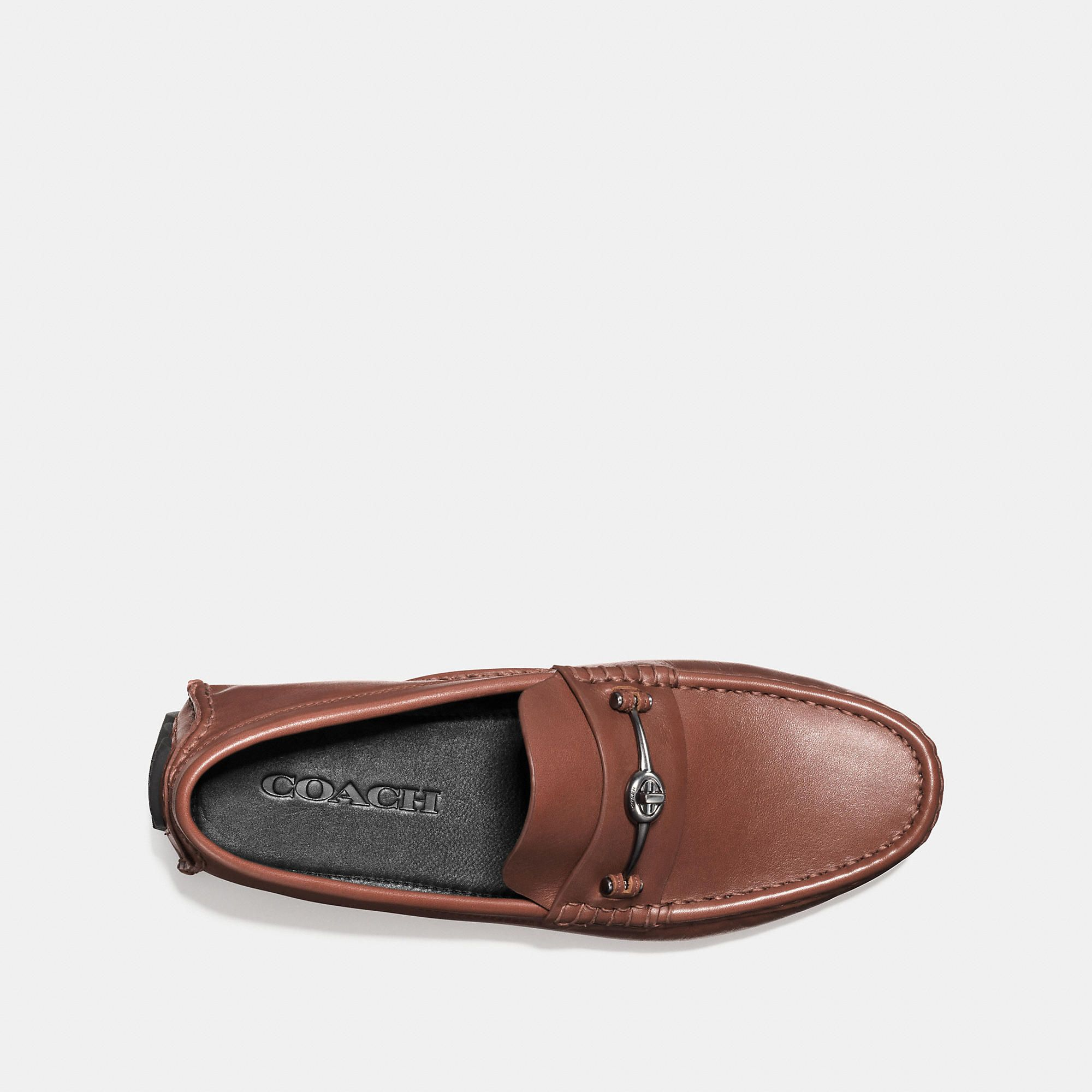 202f33ccbf18 COACH Men's Crosby Turnlock Driver Size 11.5D Loafers | Products ...