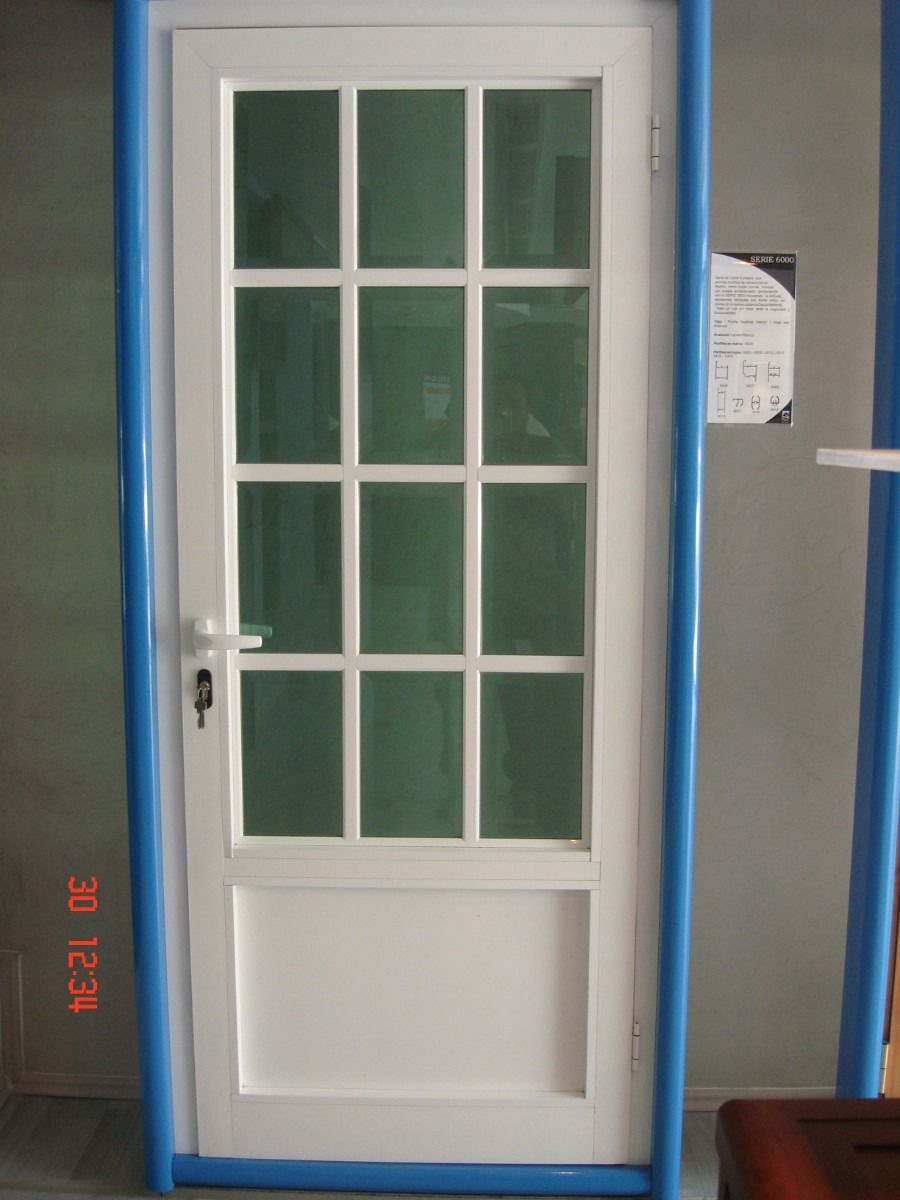 Limpiar ventanas de aluminio lacado blanco puerta - Pintar aluminio lacado ...
