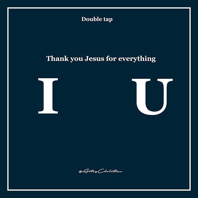 Tag someone! #ThankYouJesus
