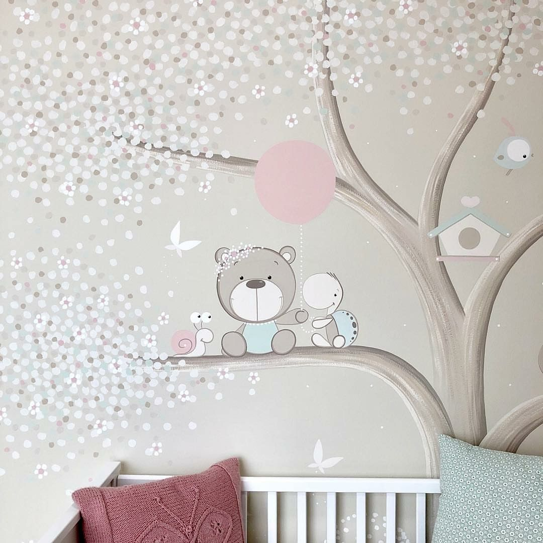 Dipinti Murali Per Camerette imagem de gyerekszoba por rafai csilla | decoração bebe