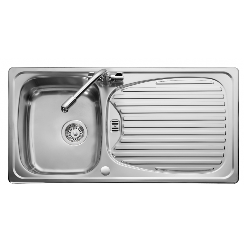 Euroline Single Bowl Kitchen Sink Casa De Papelao Latas