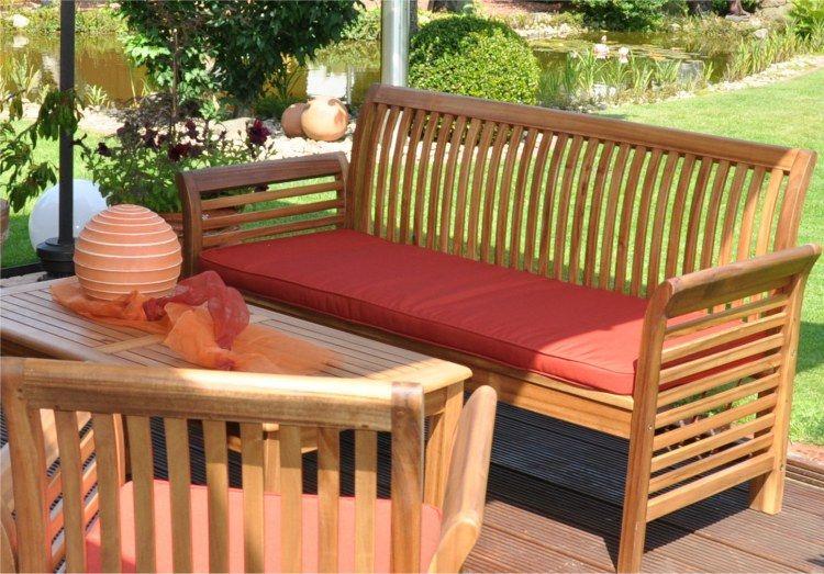 Mobilier De Jardin En Bois | salon de jardin | Pinterest | Salons