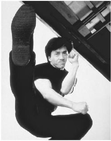 """JACKIE CHAN - """"I never wanted to be the next Bruce Lee. I just wanted to be the first Jackie Chan.."""""""