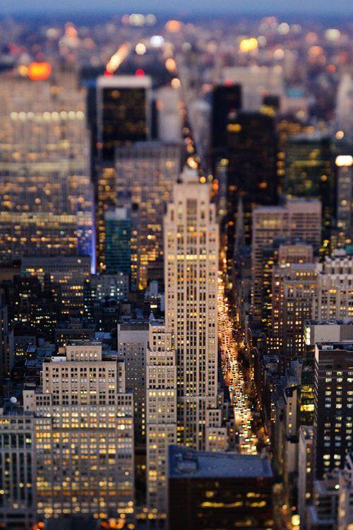 Bright Lights Big City Nyc New York City New York City