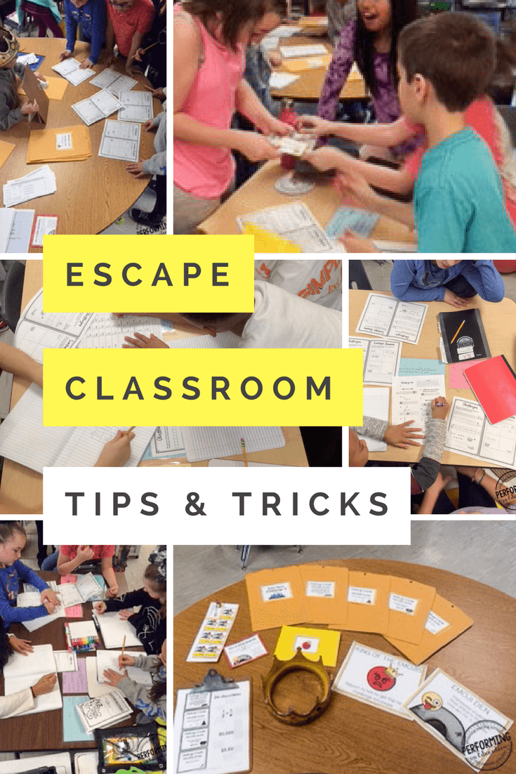 Escape Classrooms in the Elementary Classroom | Classroom ...