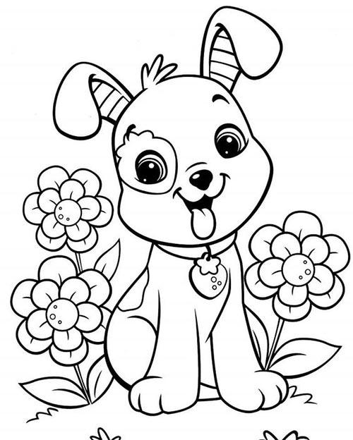 ภาพส ตว ระบายส ค นหาด วย Google Puppy Coloring Pages Dog Coloring Page Animal Coloring Pages