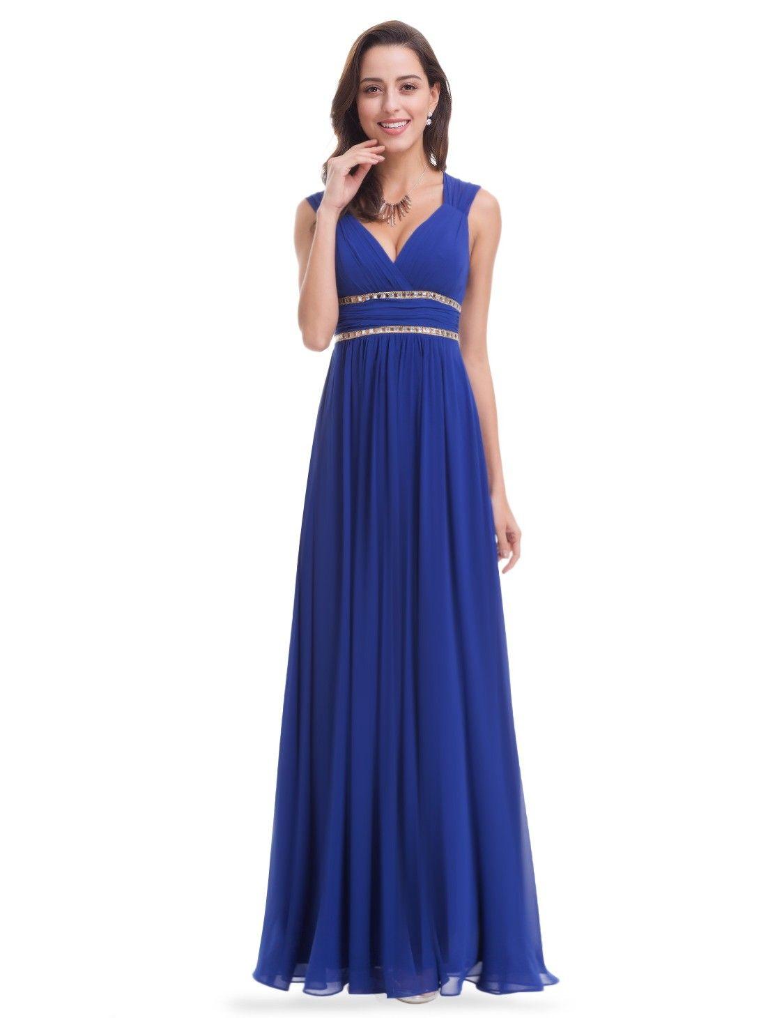 Sleeveless Grecian Style Evening Dress  83ea09f5a78