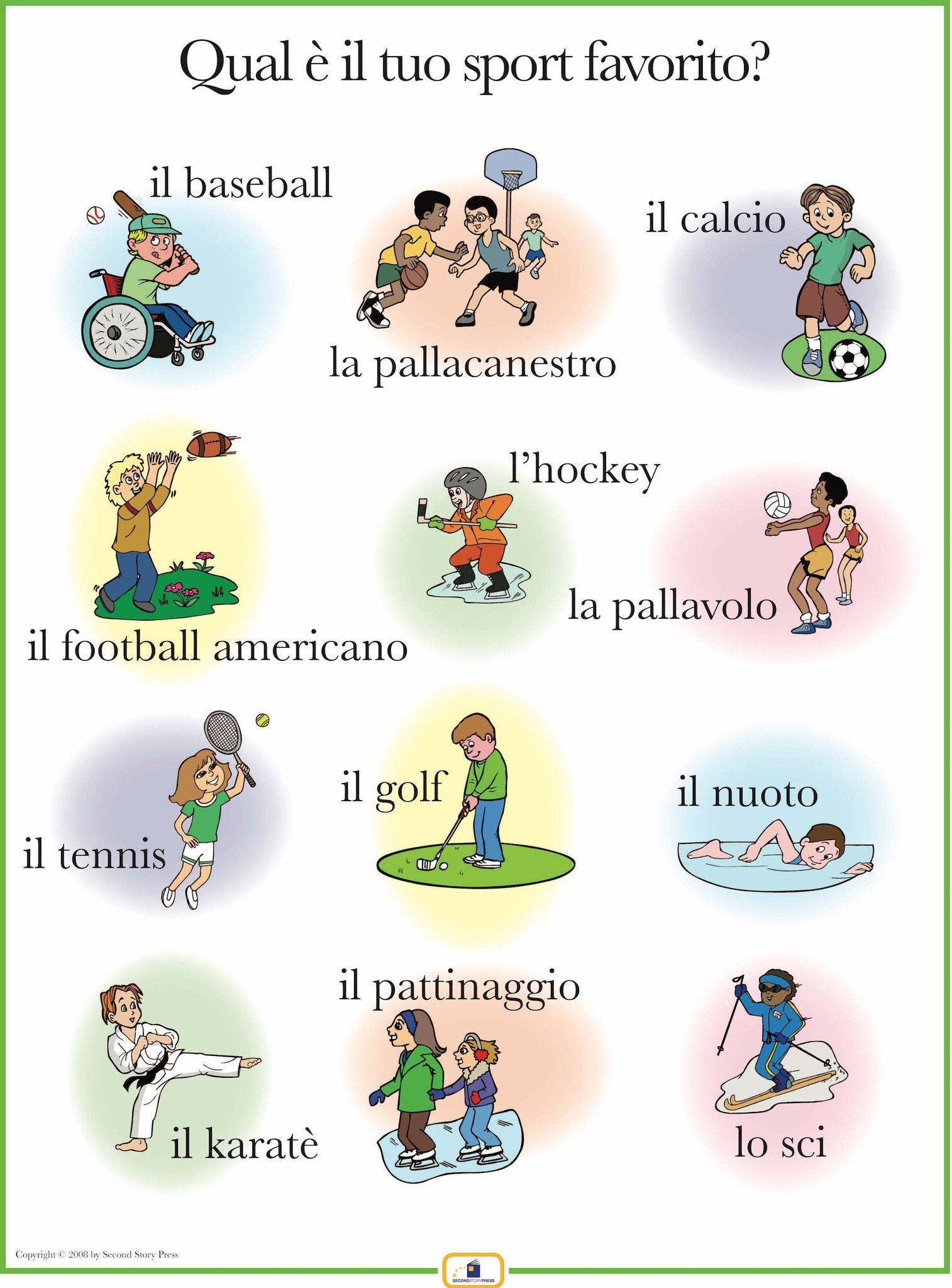 Italian Sports Poster