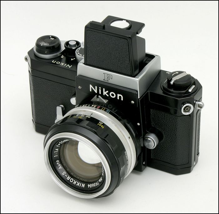 Nikon F with waist level finder | Technology & Accessories