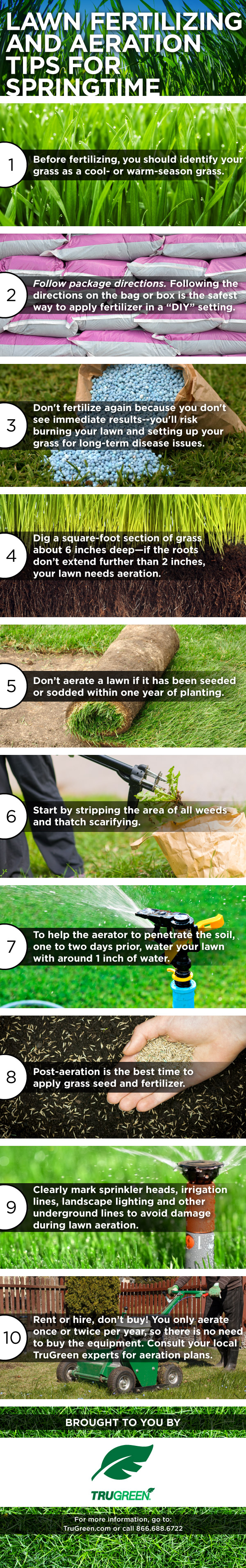 Lawn Aeration And Fertilizing Tips For Spring Gail Regan Truax