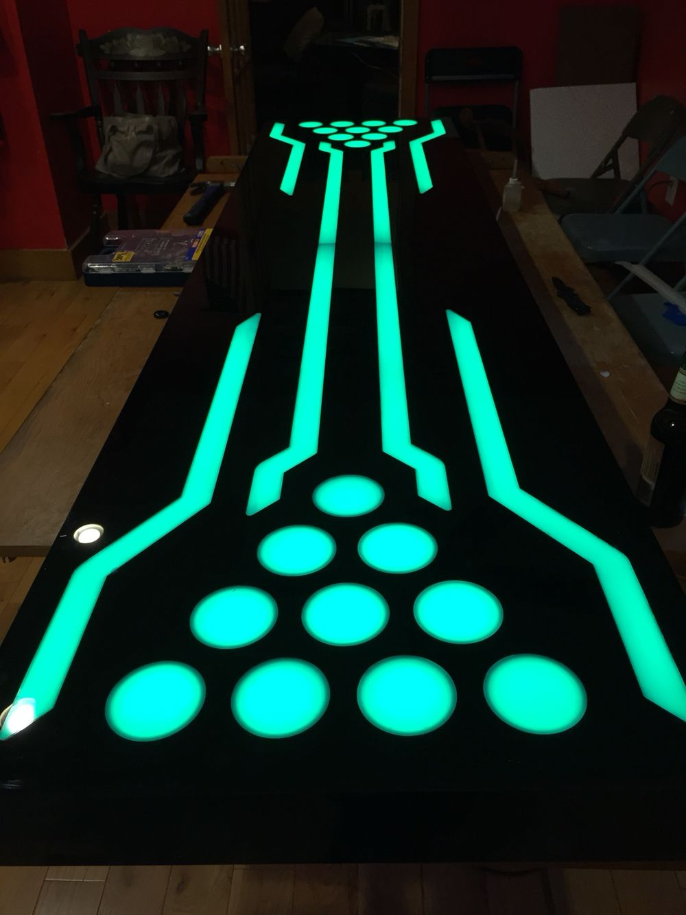 Acrylic Beer Pong Table Now Available For Purchase
