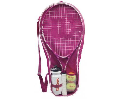 Wilson Girls Starter Kit By Wilson 59 48 This Set Is Perfect For The Young Tennis Player Just Getting To Grips With The Tennis Tennis Players Racquet Sports