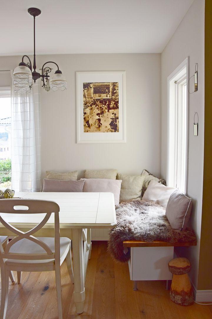 Elegante Gelassenheit in Küche und Esszimmer #alpinafeinefarben