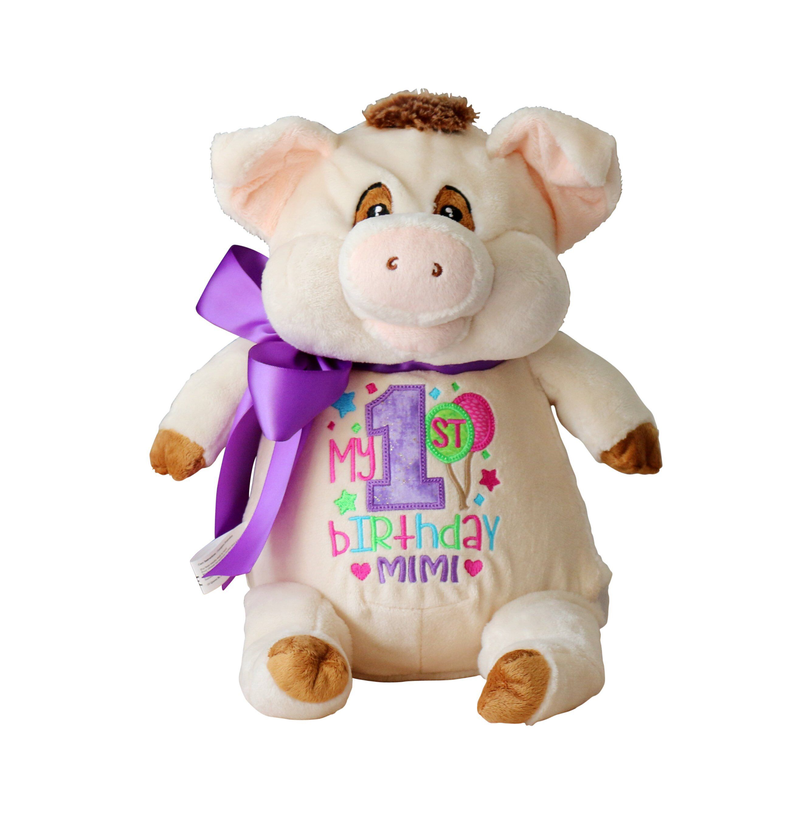Predownload: Personalized Stuffed Animal Custom Birthday Gift Embroidered Etsy Personalized Stuffed Animals Custom Birthday Gifts New Baby Products [ 2678 x 2671 Pixel ]