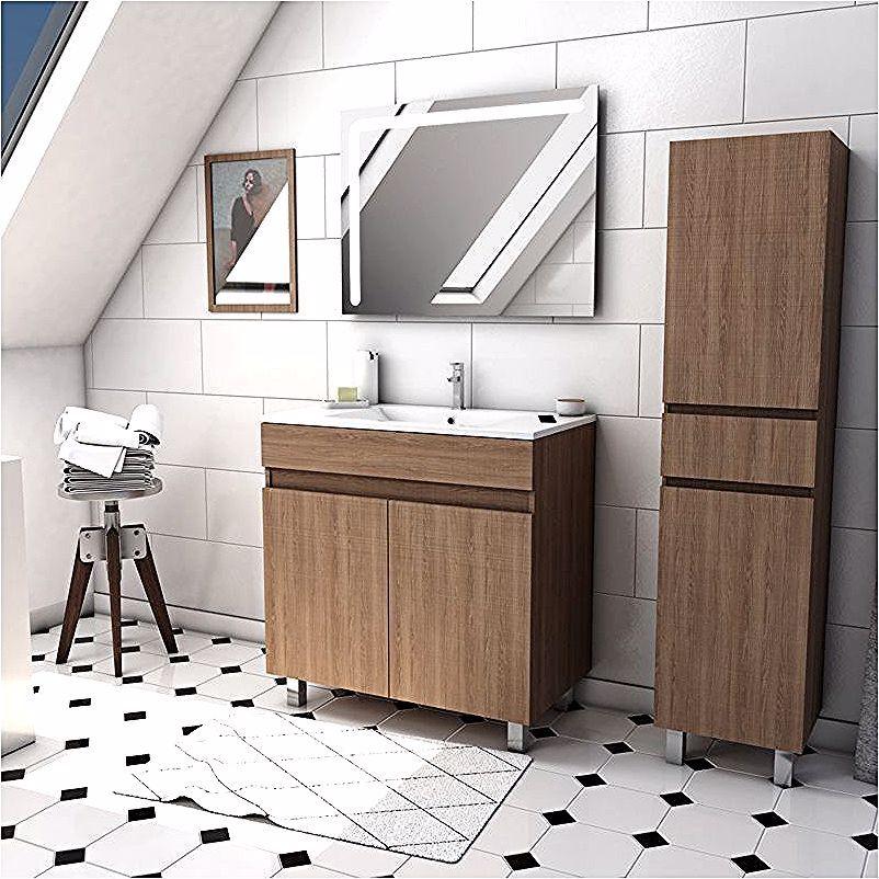 Ensemble De Meubles De Salle De Bain In 2020 Vanity Bathroom Vanity Double Vanity