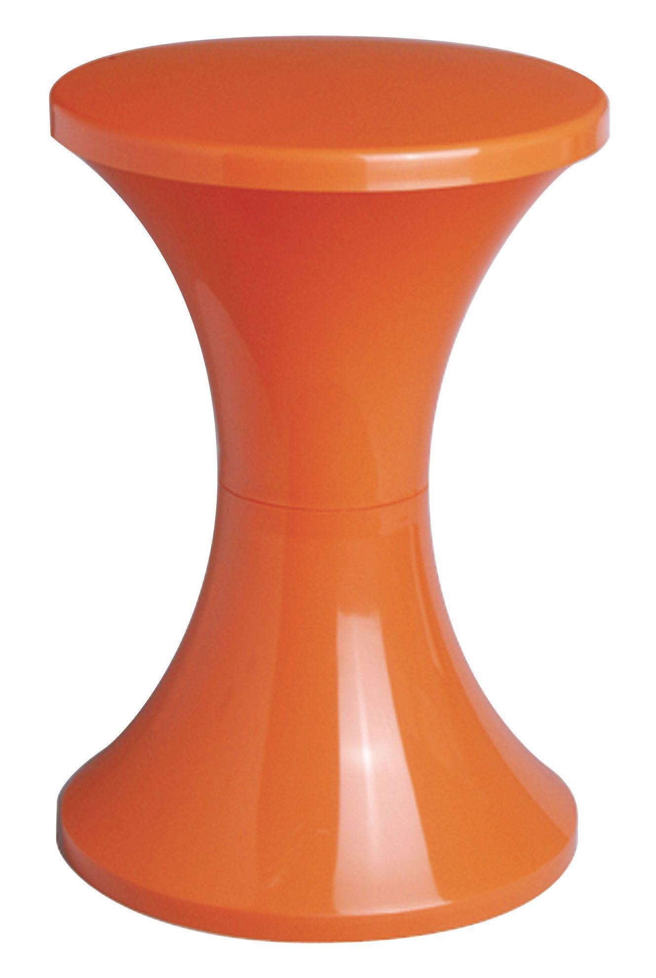 Tabouret Tam Tam Original tabouret tam tam orange - stamp edition   made in design in