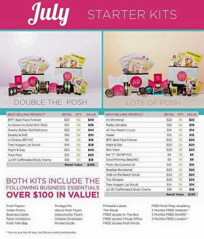 July starter kits! www.perfectlyposh.com/byemily/join