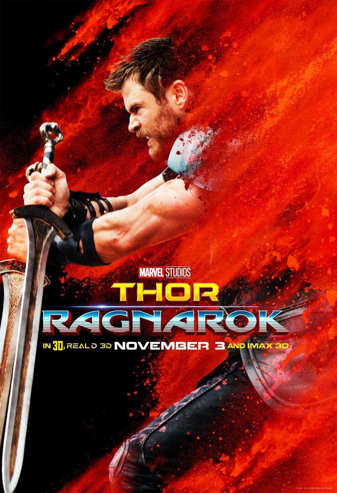 Thor Ragnarok Ganha Posteres Coloridos Inspirados Em Jack Kirby