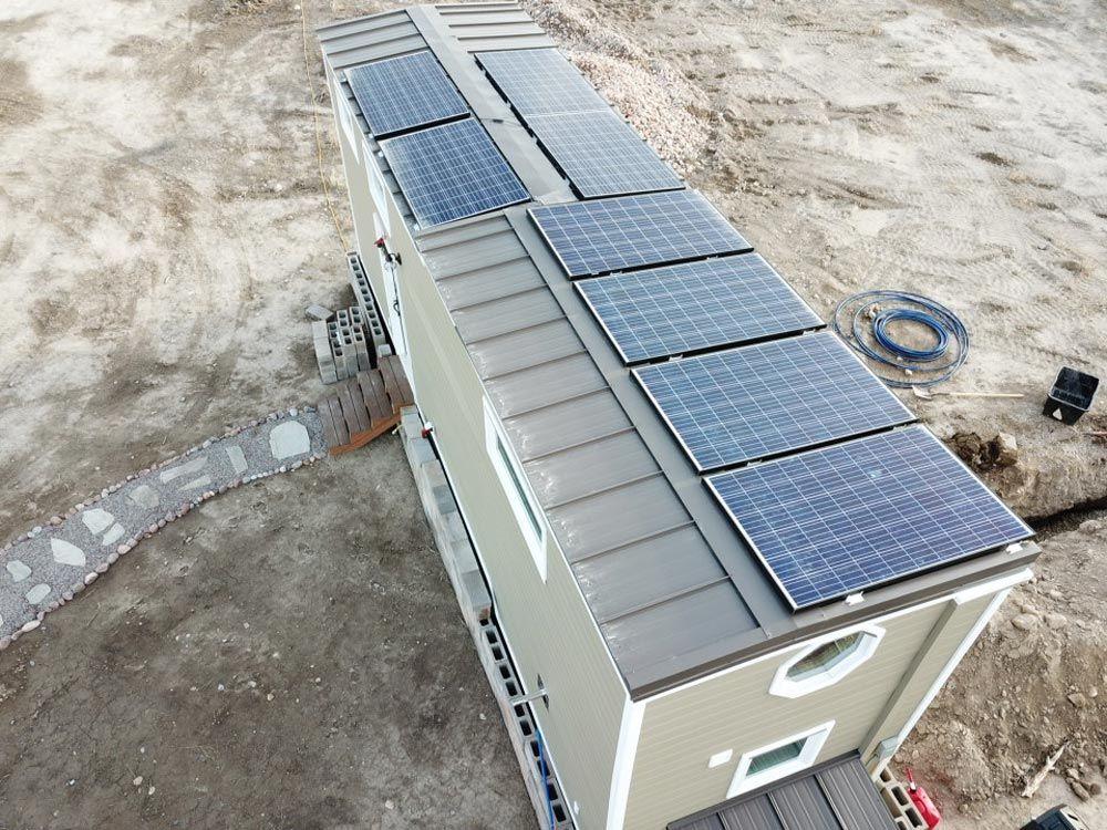 Tiny Solar Home By Alpine Tiny Homes Tiny Living Solar Panels Best Solar Panels Solar Energy Panels