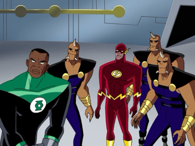 Justice League, s01e05 In Blackest Night (2)