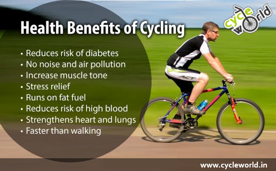 The benefits of cycling are as endless as the country