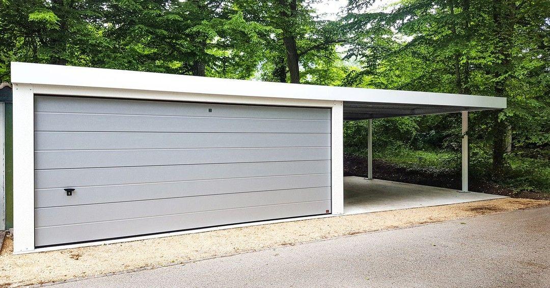 Pin Auf Carport Einhausungen Eingangsuberdachung Mulltonnenbox Garage Geratehaus