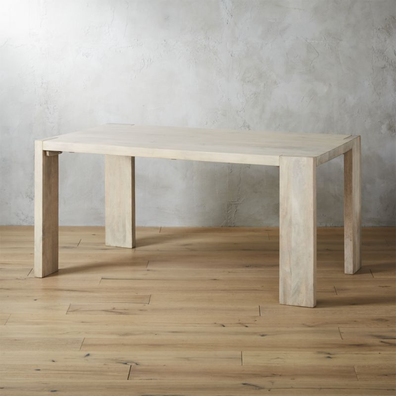 Fabulous Blox White Wash Dining Table 35X63 Jennifer Dining Caraccident5 Cool Chair Designs And Ideas Caraccident5Info
