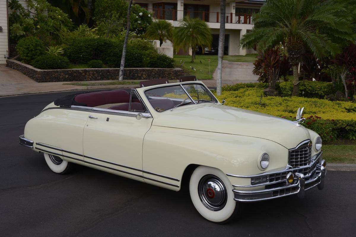 1948 Custom 8 Victoria Convertible Coupe   Packard   Pinterest ...