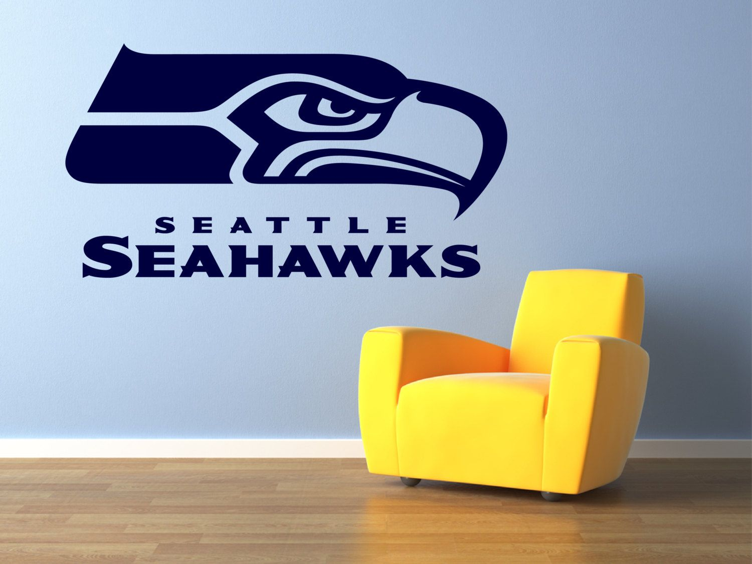 Seattle Seahawks Premium Removable Wall Art Decor By Signs4half 18 00