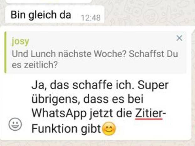 Verliert ihr in euren Gruppenchats auch immer so schnell den Überblick? Mit dieser neuen WhatsApp-Funktion wird vieles einfacher.