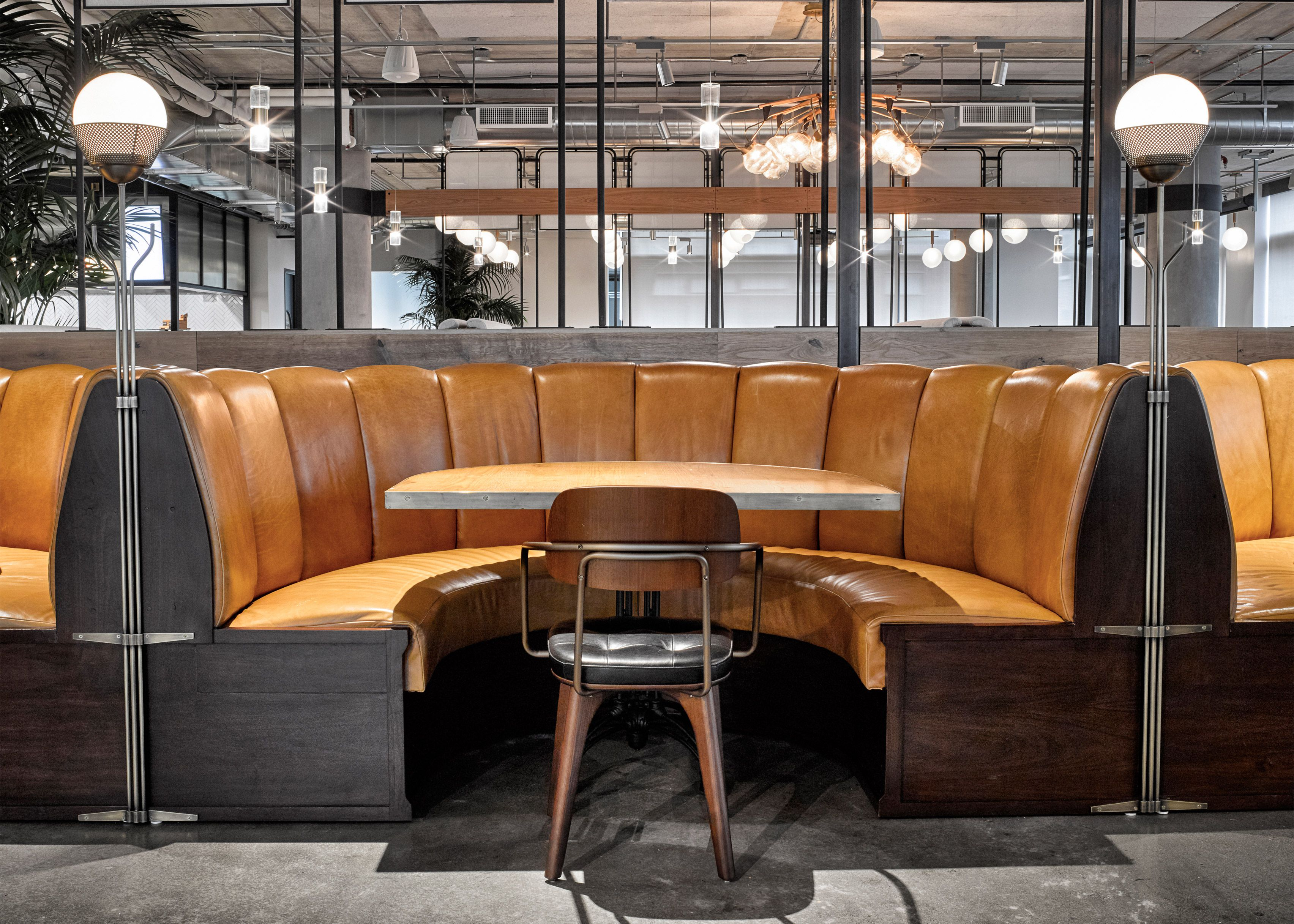 dropbox opens industrial style cafeteria at california