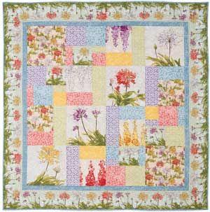 SERENITY GARDEN QUILT KIT - Keepsake Quilting.com | Quilts ... : keepsake quilting com - Adamdwight.com