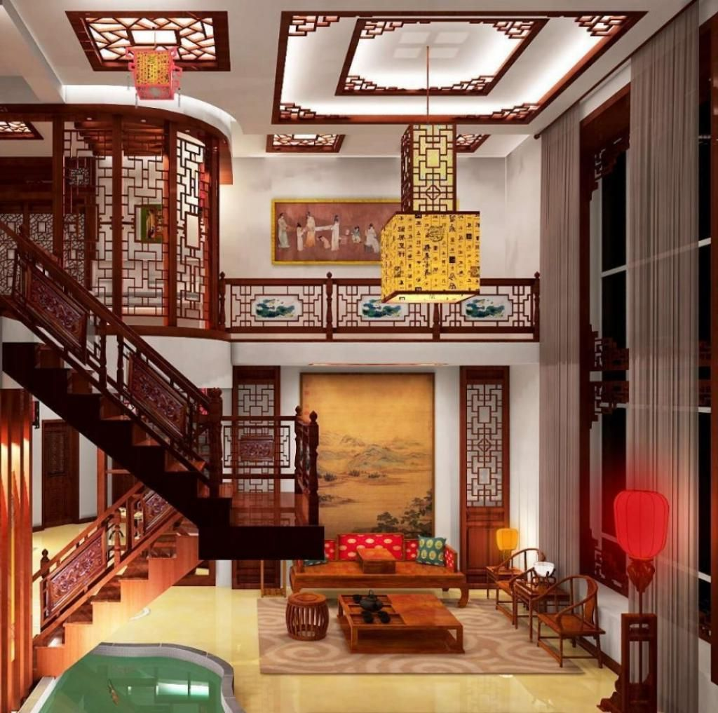 adorable-elegant-living-room-chinese-style-interior-design-with