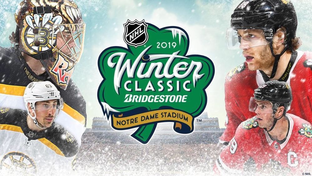 2019 NHL WINTER CLASSIC Four 4 Tickets Blackhawks vs Boston Bruins At Notre  Dame  nhl  espn  tickets 1e0680df11a