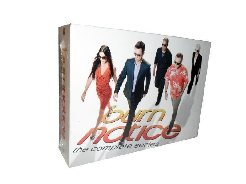 Burn Notice The Complete Series Seasons DVD 29-Disc Box Set NEW ...