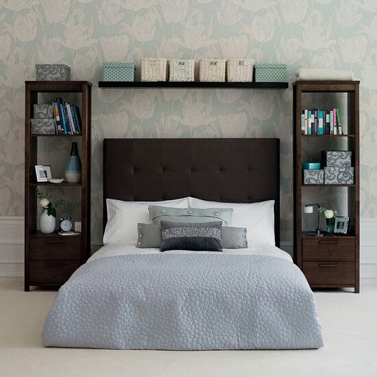 Using a bookcase instead of a nightstand