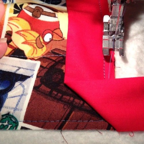 Quilt Binding: Turning Corners