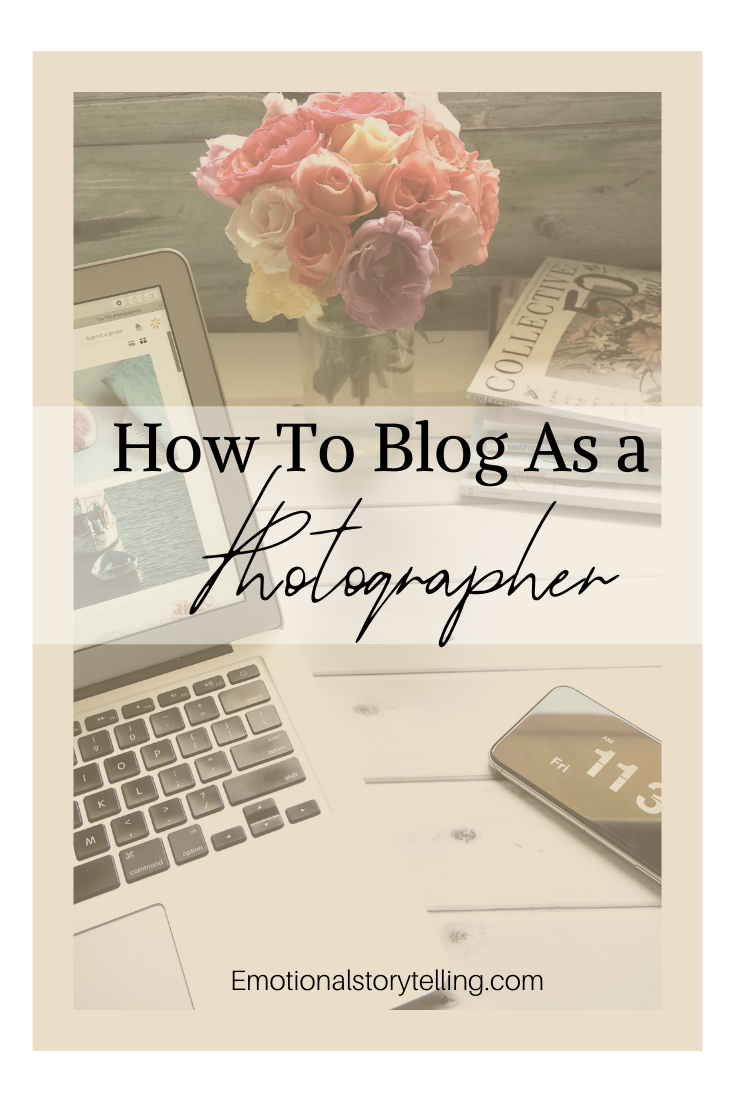 In this blog post are my top 5 tips for how to blog as a photographer so you can make the most of this feature to help you gain business, build client trust and help other photographers grow a community. #blogging #bloggers #photographyblogger #photography #photos #photographytips #bloggingtips