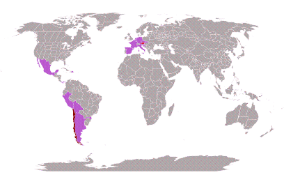 Yo tengo explorado 6.77% del mundo #mytravelmap