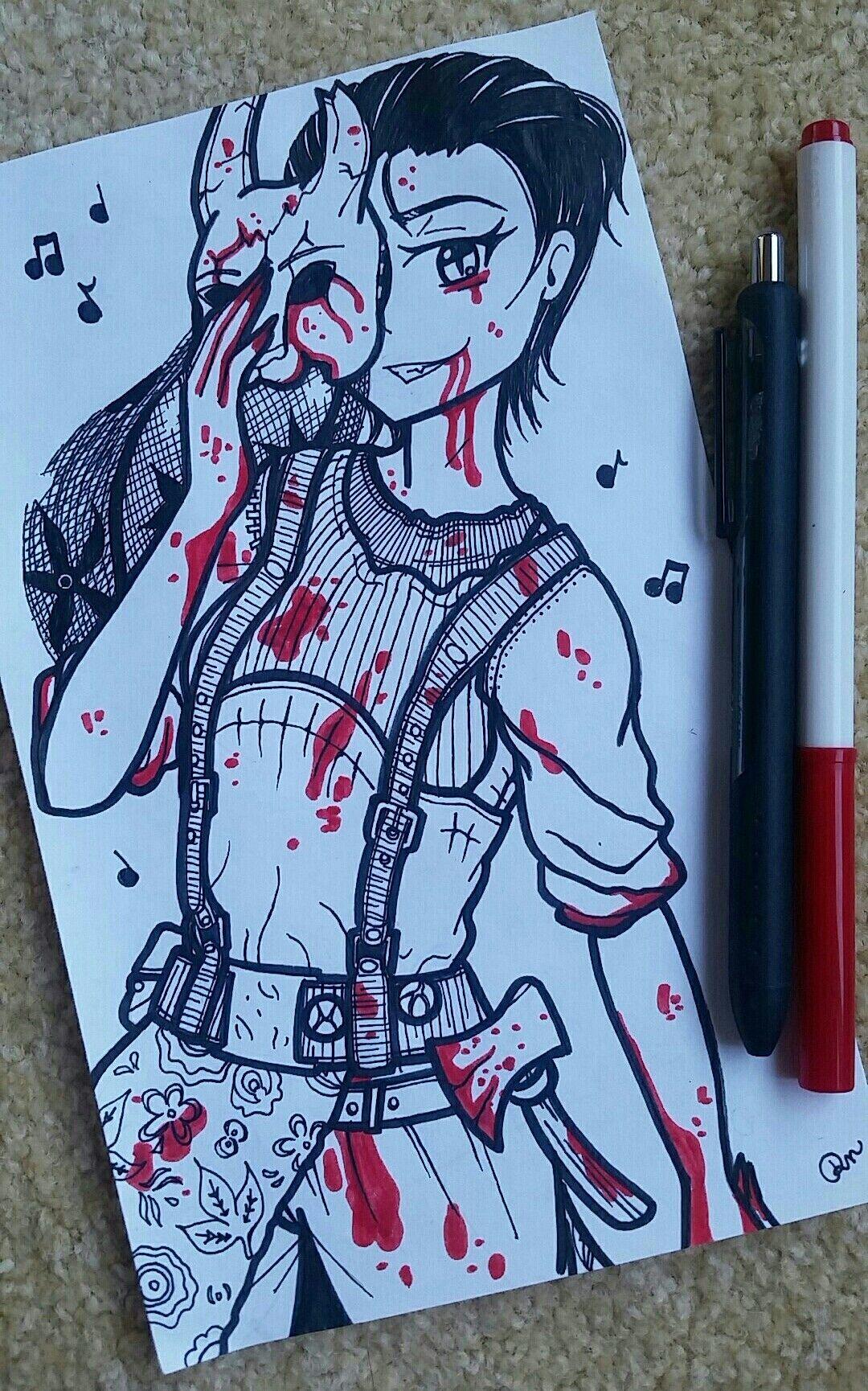 Pin by Rachel Nethaway on Dead by Daylight Drawings