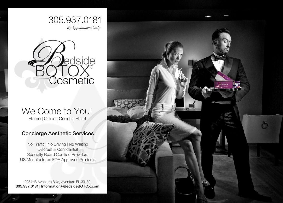 Bedside BOTOX Concierge Special 305-933-1838