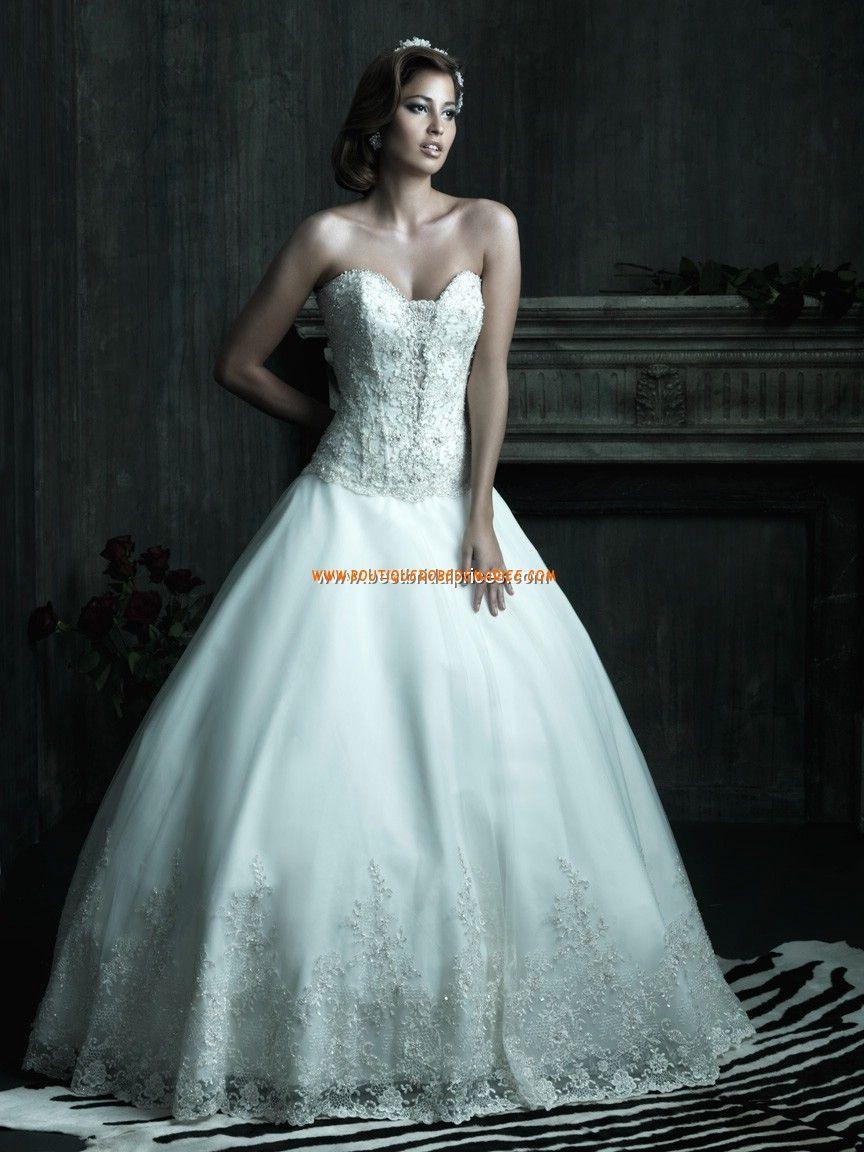Robe de mariée couture princesse bustier dentelle cristal | Robe de ...